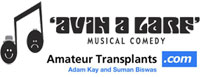Vote for Amateur Transplants at the Musical Comedy Awards