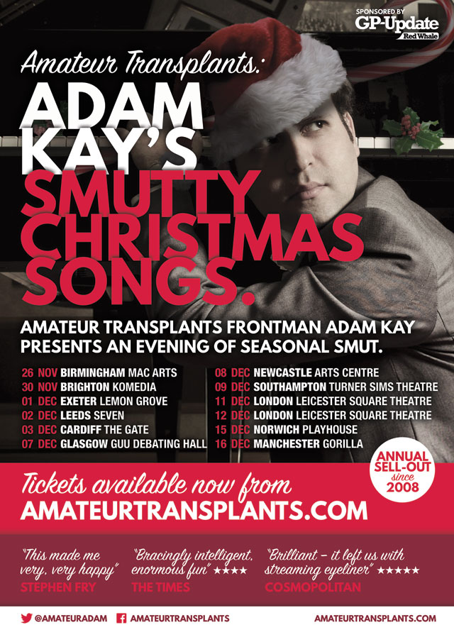 Adam Kay: Smutty Songs